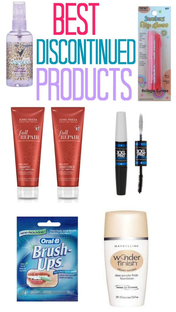 Discontinued Beauty Products Best Discontinued Prod...